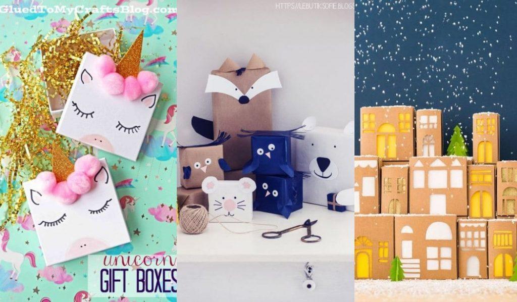 +20 Ideas para envolver regalos para niños