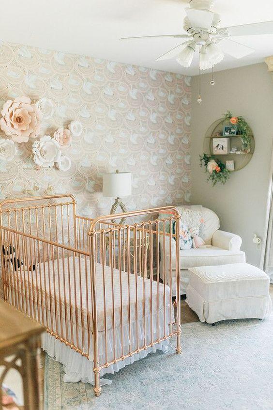 Habitaciones bebés vintage