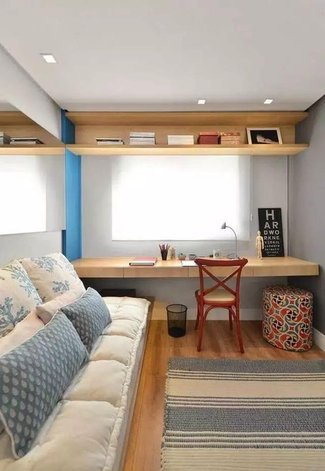 Habitaciones juveniles alargadas