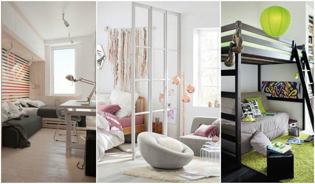 Sof cama en el dormitorio juvenil soluci n perfecta para los invitados - Sofas para habitacion ...