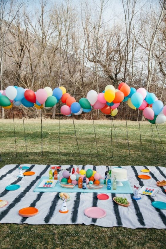 Cumpleaños en el parque
