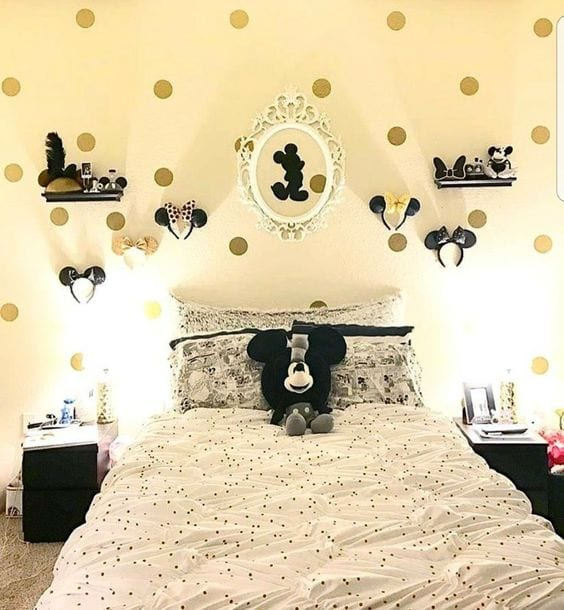 Habitaciones de mickey mouse con buenas ideas decorativas - Decoration mickey chambre ...