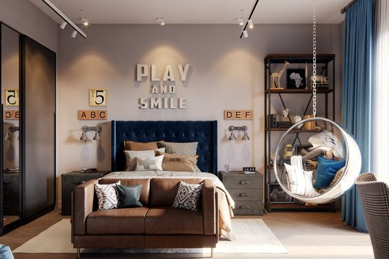 Rincón relax habitación juvenil