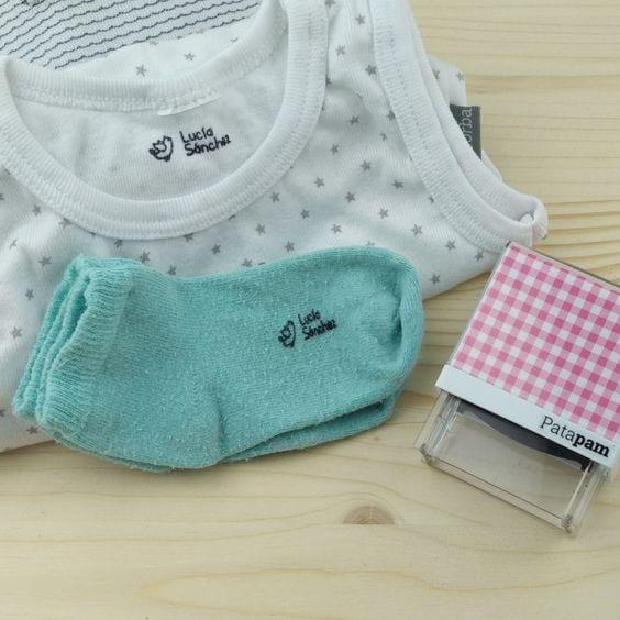 Marcando la ropa de nuestros niños