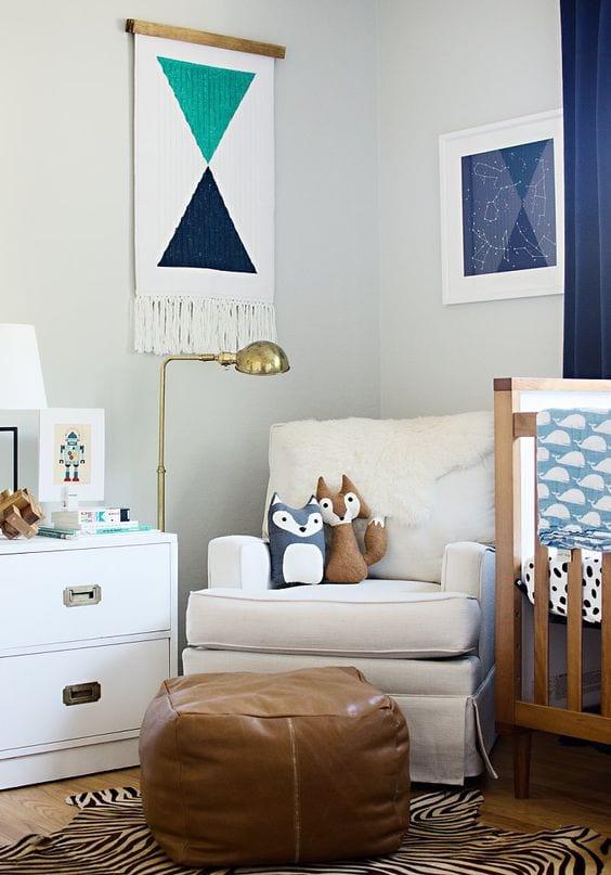 Tapiz o Wall Hanging para decorar paredes infantiles