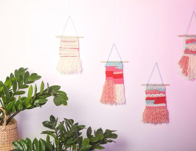 Cómo hacer un Tapiz o Wall Hanging