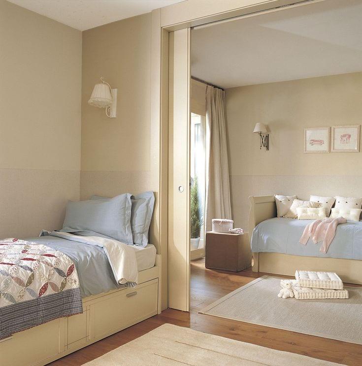 Unir dos habitaciones infantiles consejos