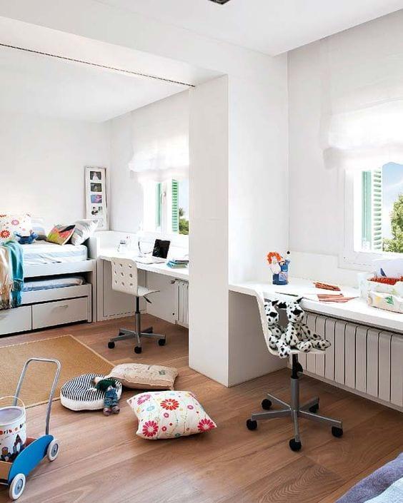 Unir dos habitaciones infantiles