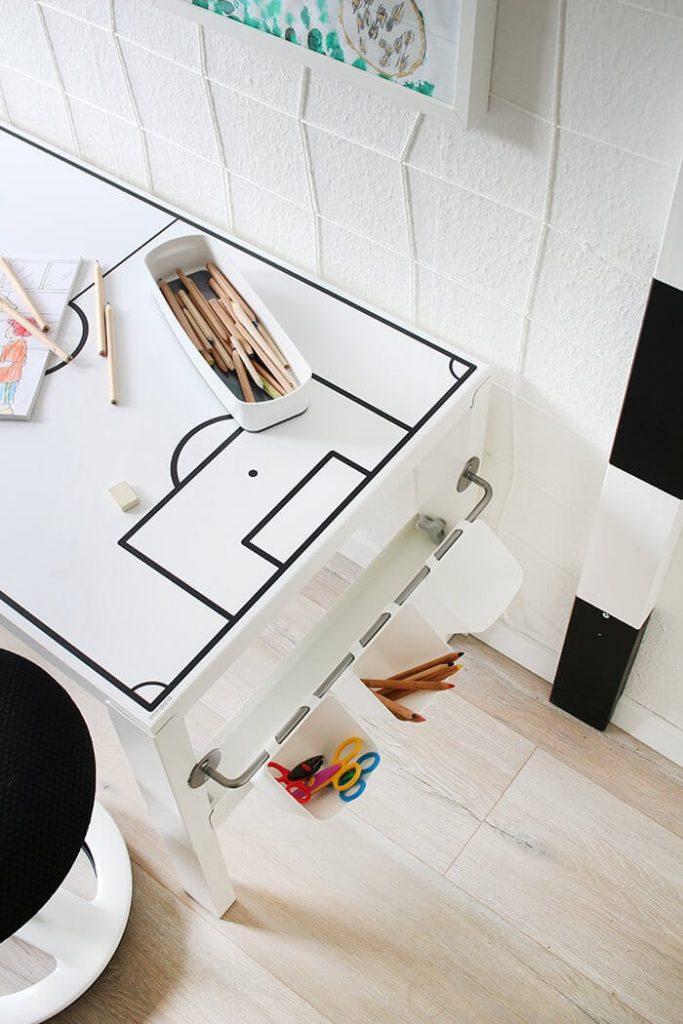 Ikea Hack escritorio para niños Pahl