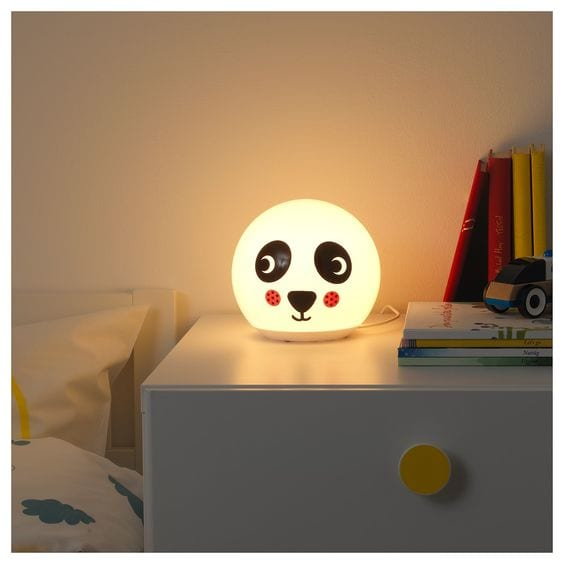 Lámpara Panda Ikea Ängarna