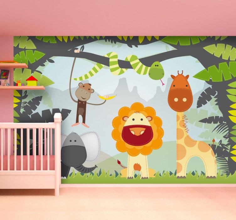 Consigue un acabado sorprendente en la habitación del bebé