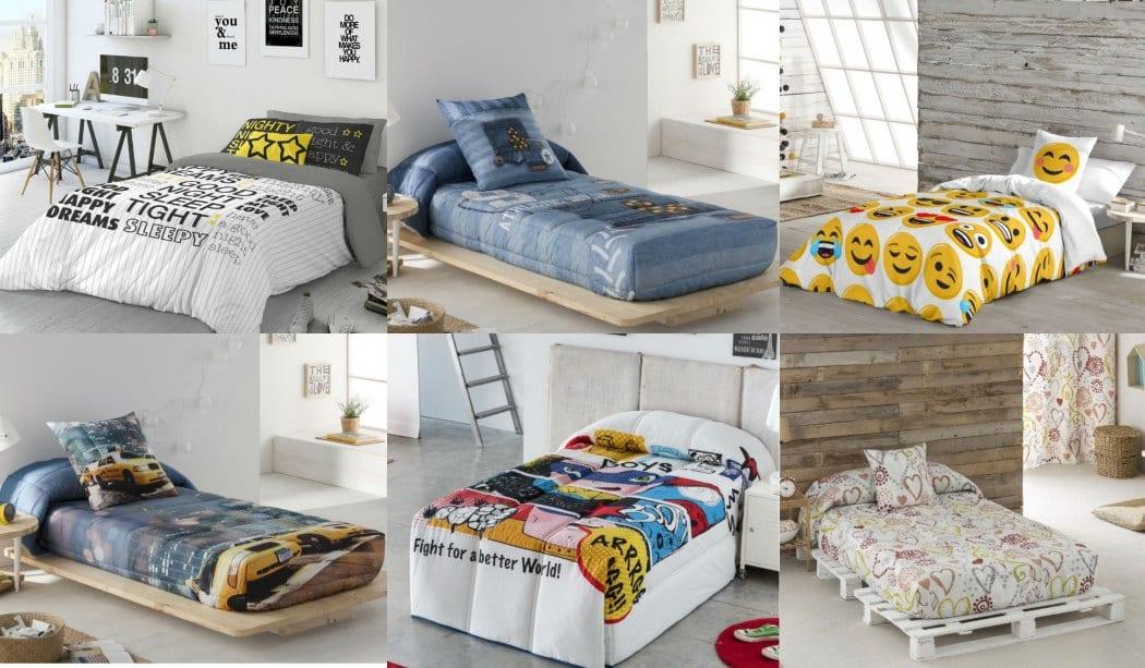 Agradable  Dibujos Navidenos A Color #4: Vestir-los-dormitorios-juveniles-con-ropa-de-cama.jpg