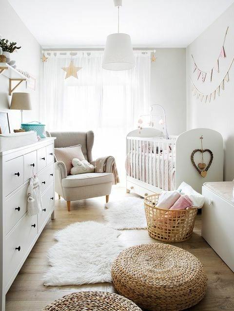 Habitaciones de bebé Ikea cuna Gonatt