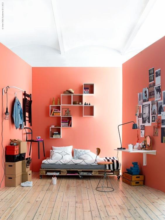 Dormitorios juveniles Living Coral