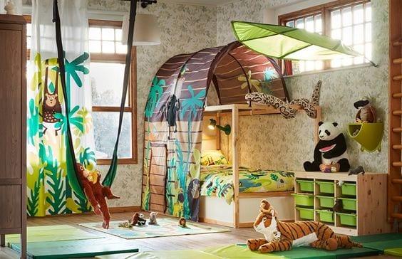 Dosel Ikea Löva en habitaciones infantiles