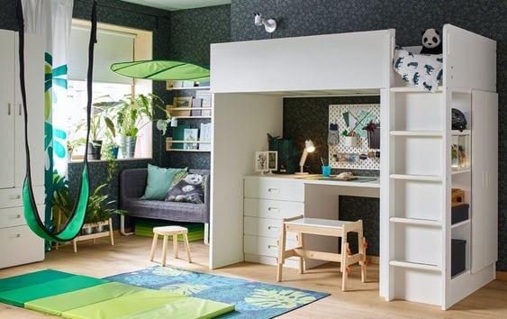 Löva el dosel Ikea más famoso