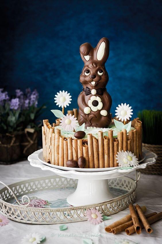 Tarta de Pascua para niños