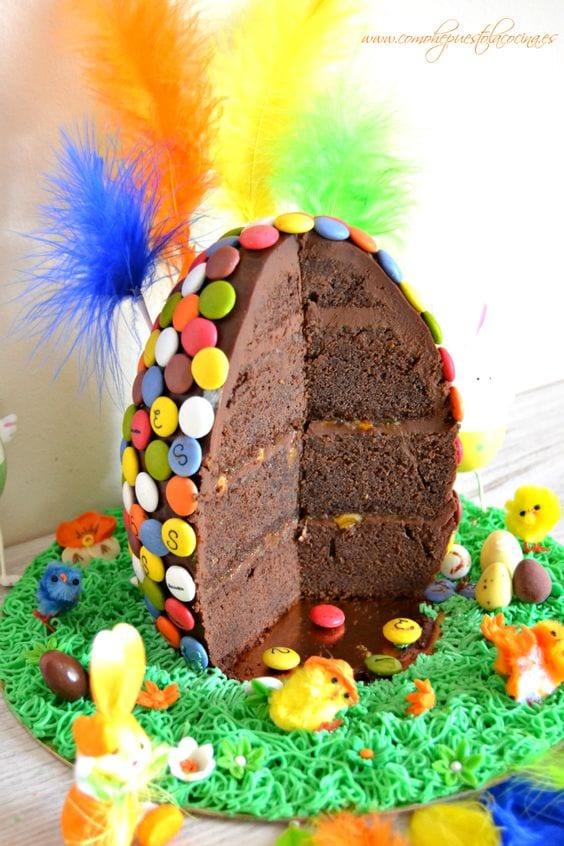 Decoración y recetas de tartas de Pascua