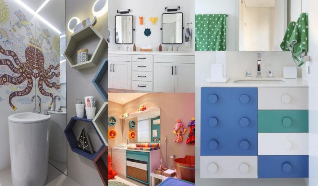 ideas de decoración de baños para bebés