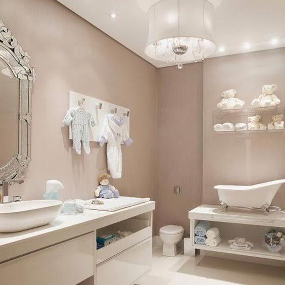 Decoración del baño de tu bebé