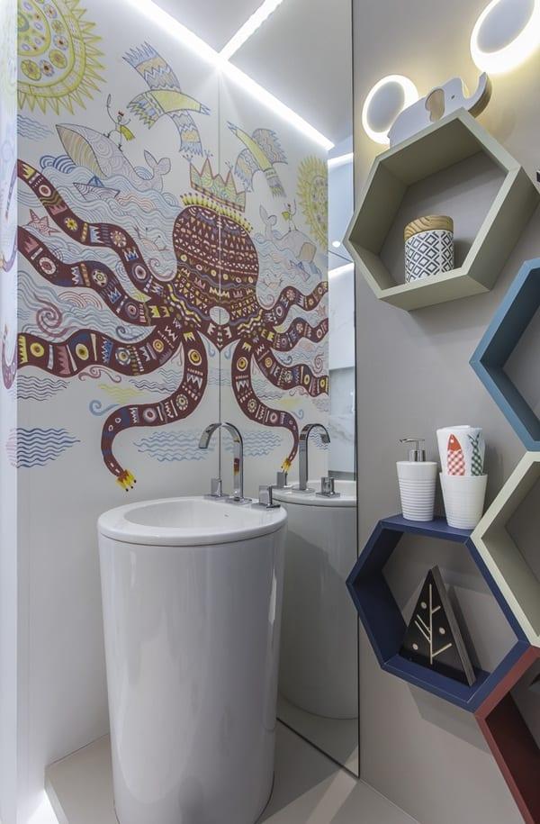 Decoración baños infantiles ideas