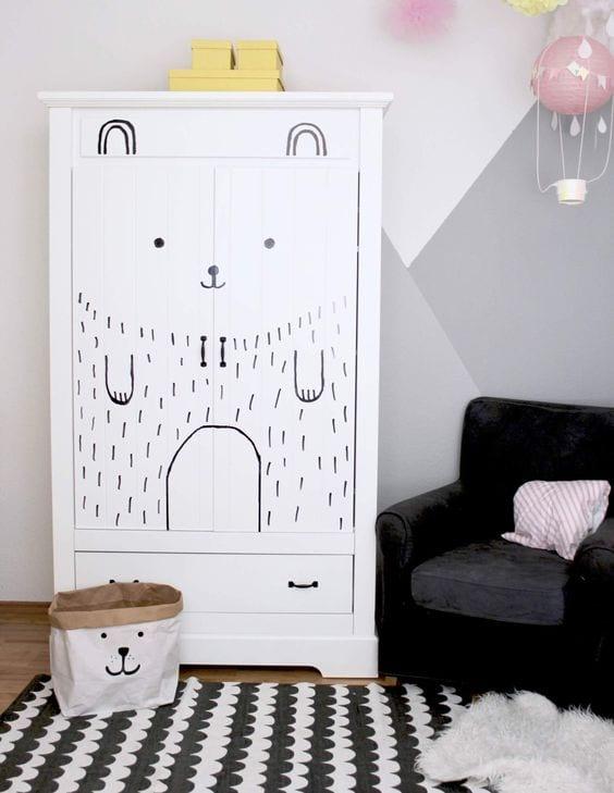 Ideas para decorar armarios infantiles