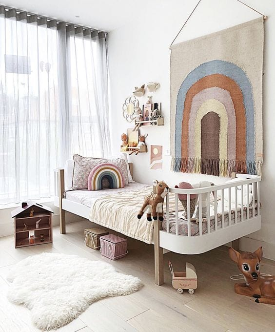 Habitación bebé convertible