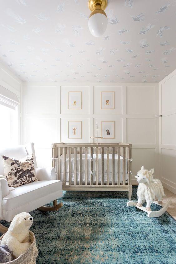 Tips para decorar: Habitación bebé paneles