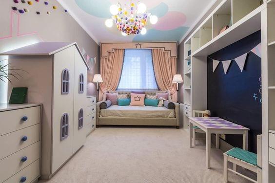 Cómo iluminar las habitaciones infantiles