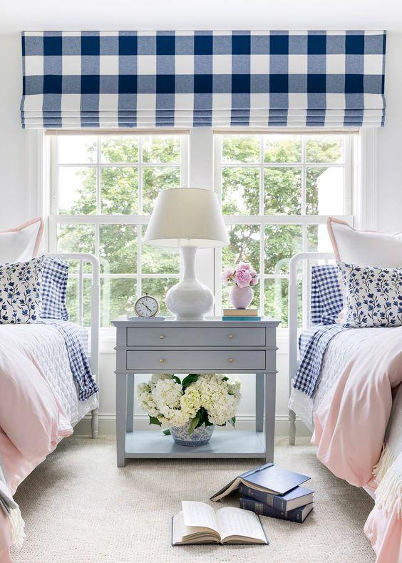 Inspiración en blanco y azul