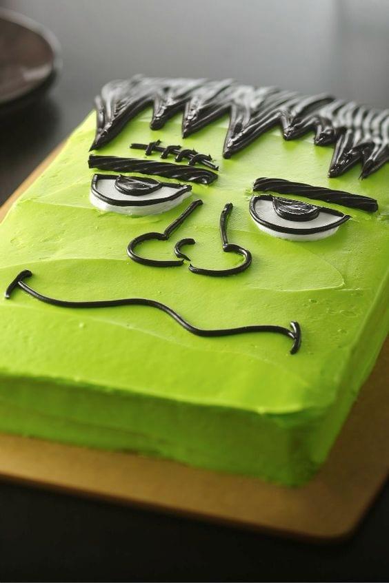 Tarta Frankenstein