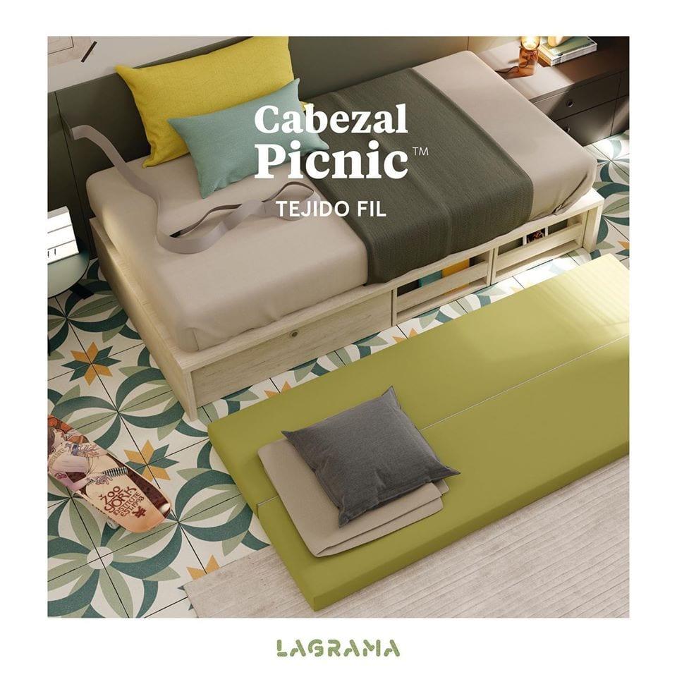 Cabezal Picnic Lagrama