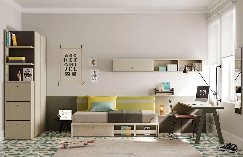 Muebles juveniles Lagrama nido