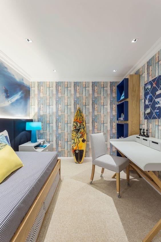 Habitación juvenil surf