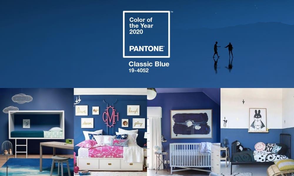 Classic Blue decoración infantil