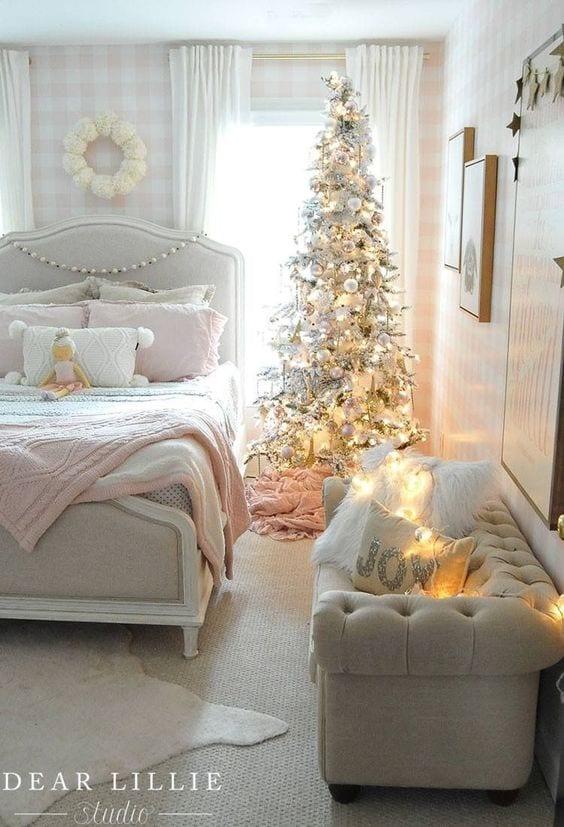 Habitaciones infantiles decoradas de Navidad