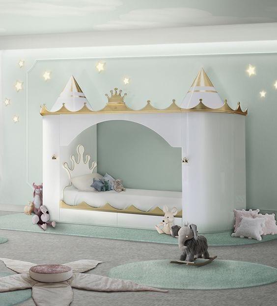 Habitación de Princesas para niñas