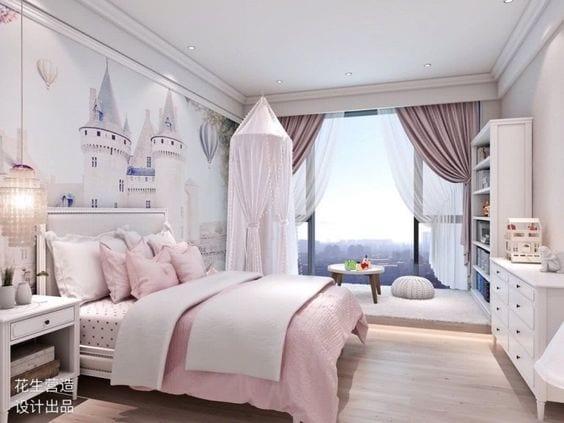 Habitación infantil de Princesas