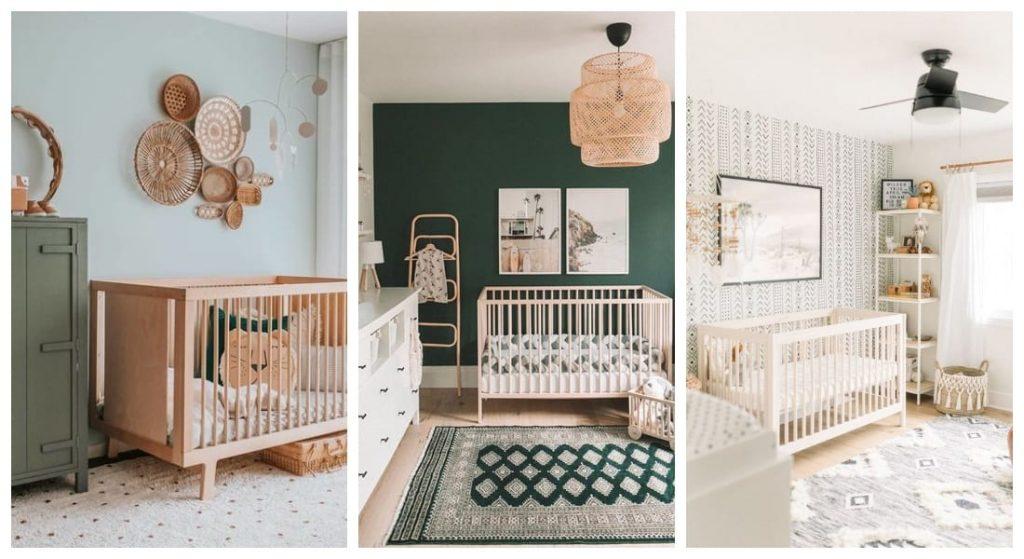 Habitaciones unisex para bebés