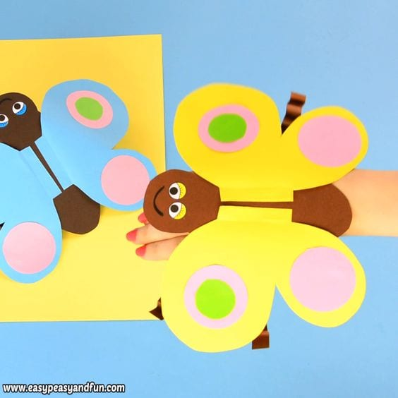 Manualidades de primavera con papel o cartulina