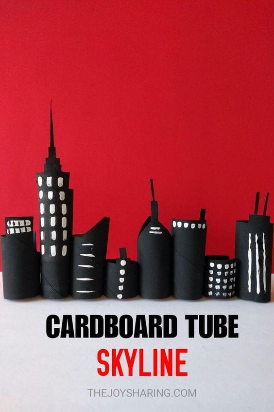 Manualidades tubos cartón
