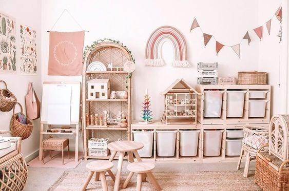 zona de juegos Montessori