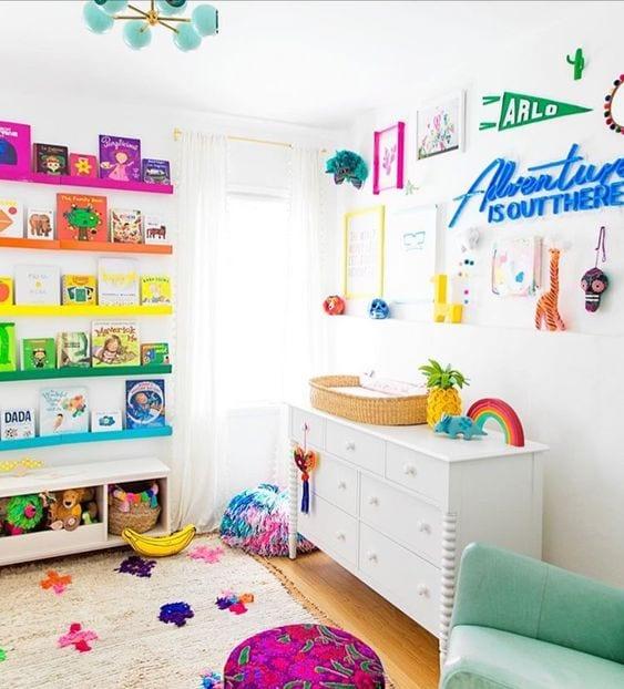 Zona juegos niños en casa