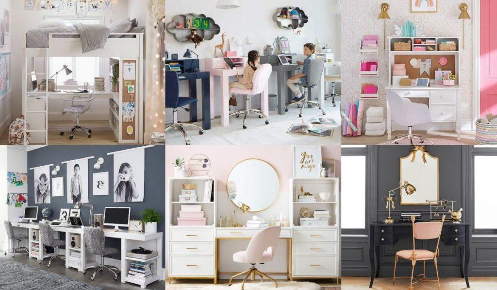 Cómo preparar un espacio de estudio para los niños