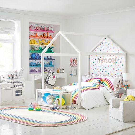 Habitación infantil arco iris