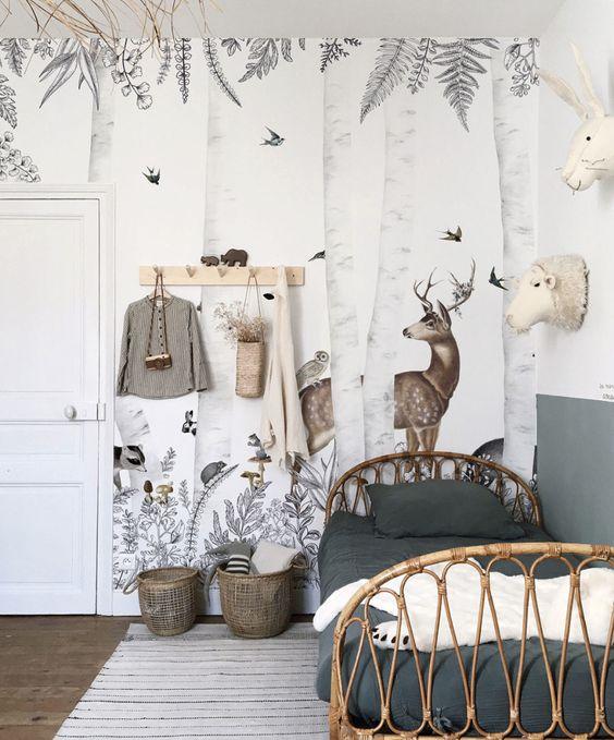 Muebles infantiles fibras naturales