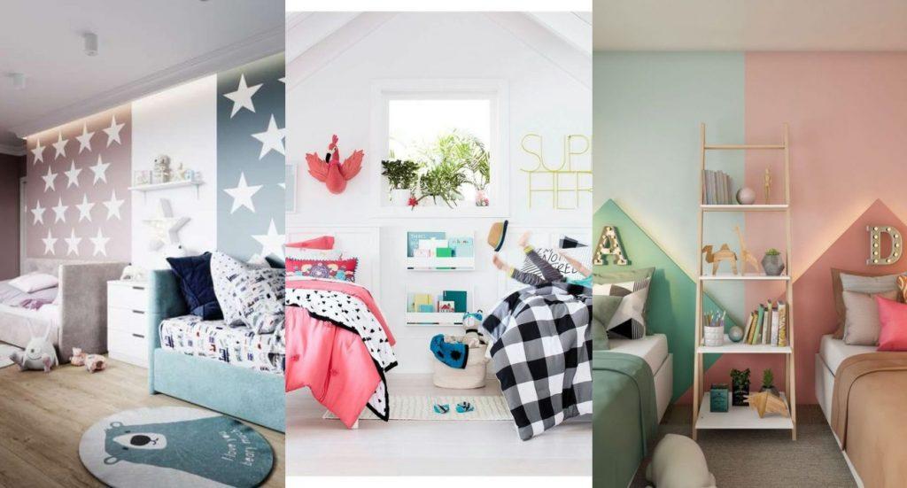 Habitaciones mixtas niño-niña