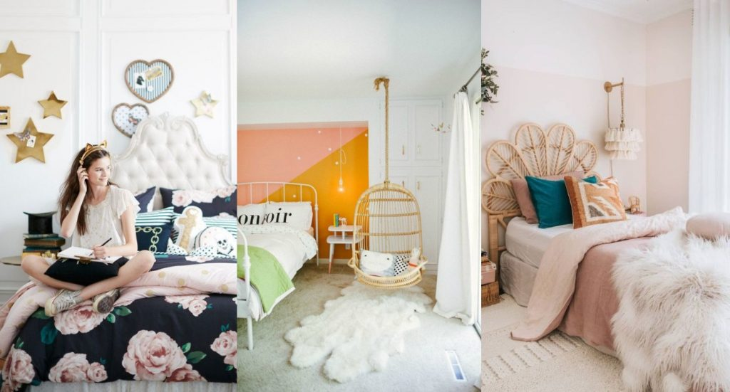 Habitaciones juveniles para chica- Niñas, adolescentes, cuartos femeninos
