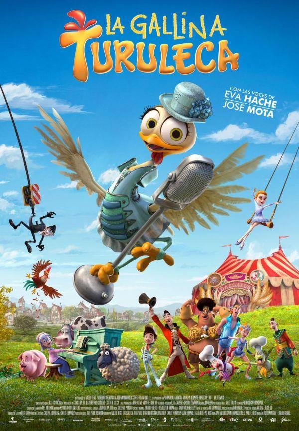 Las mejores películas animadas, La gallina Turuleta