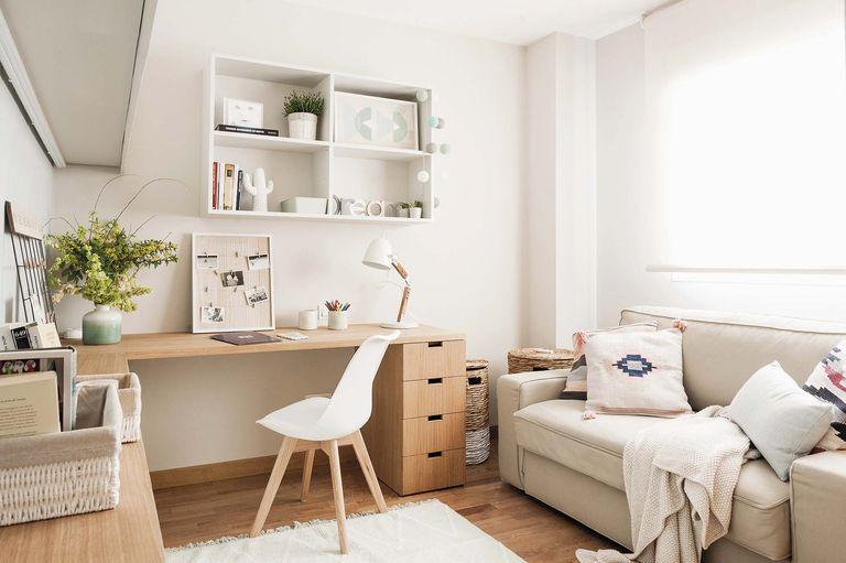Habitación de estudio y habitación de invitados
